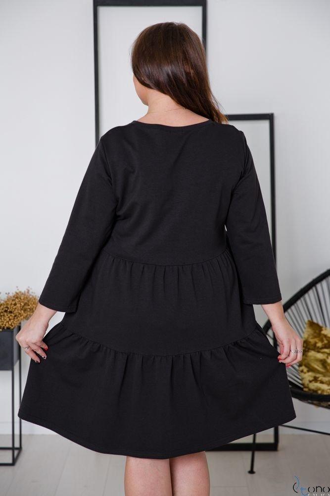 Black Dress SORRINA Plus Size
