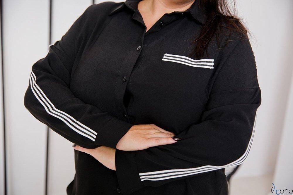Black Shirt ERINE Plus Size