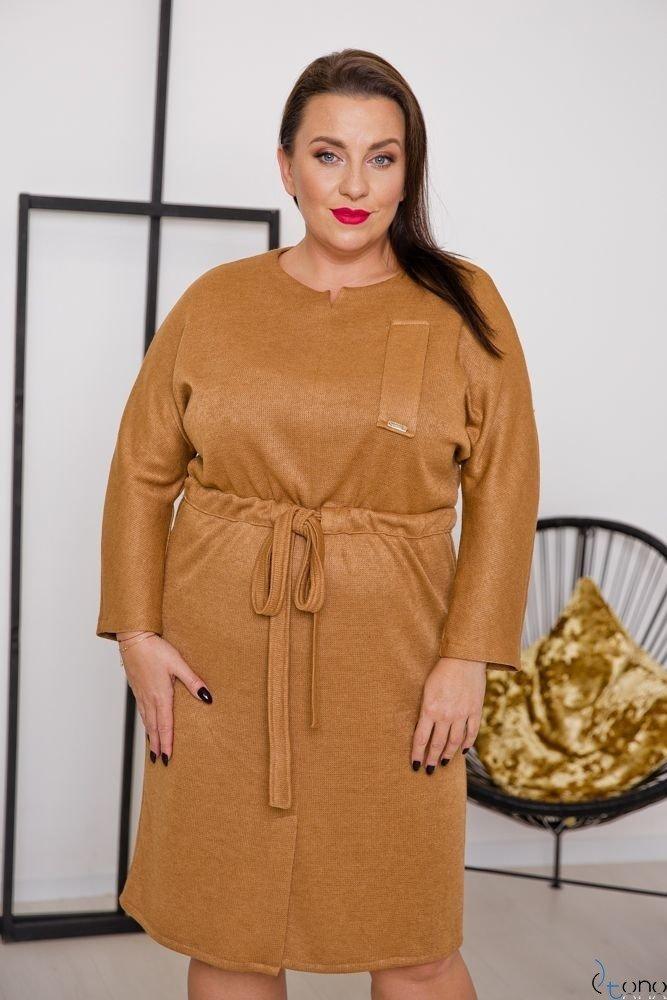 Camel Dress BOFETTA Plus Size