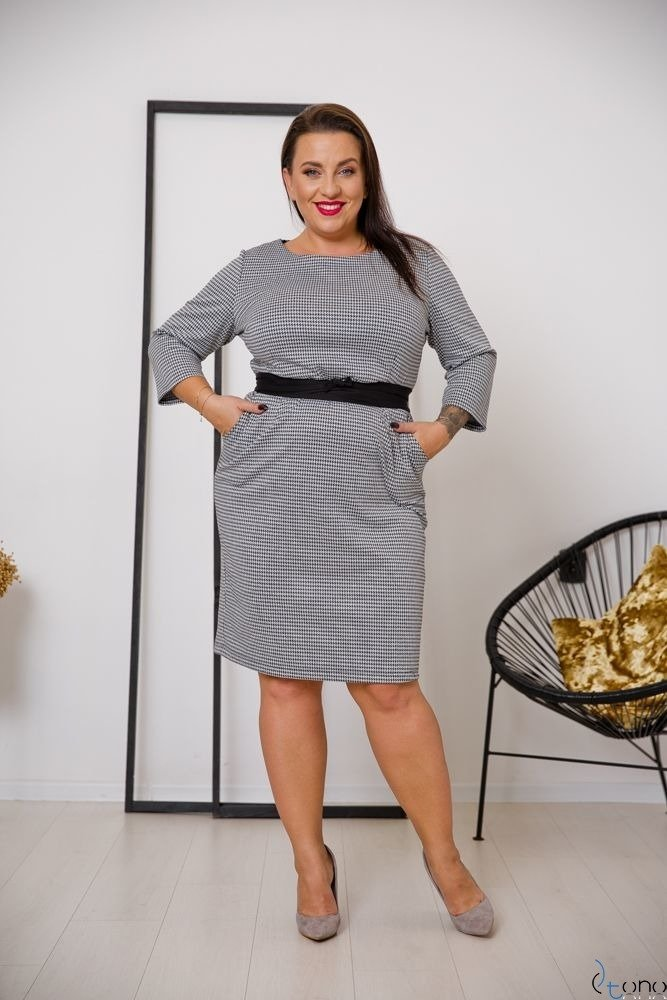 Dress LARIZ Plus Size Design 1