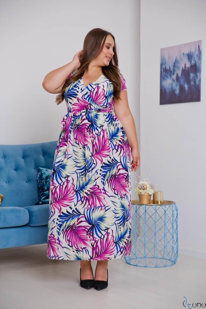 Dress MERILLA Plus Size Design 1