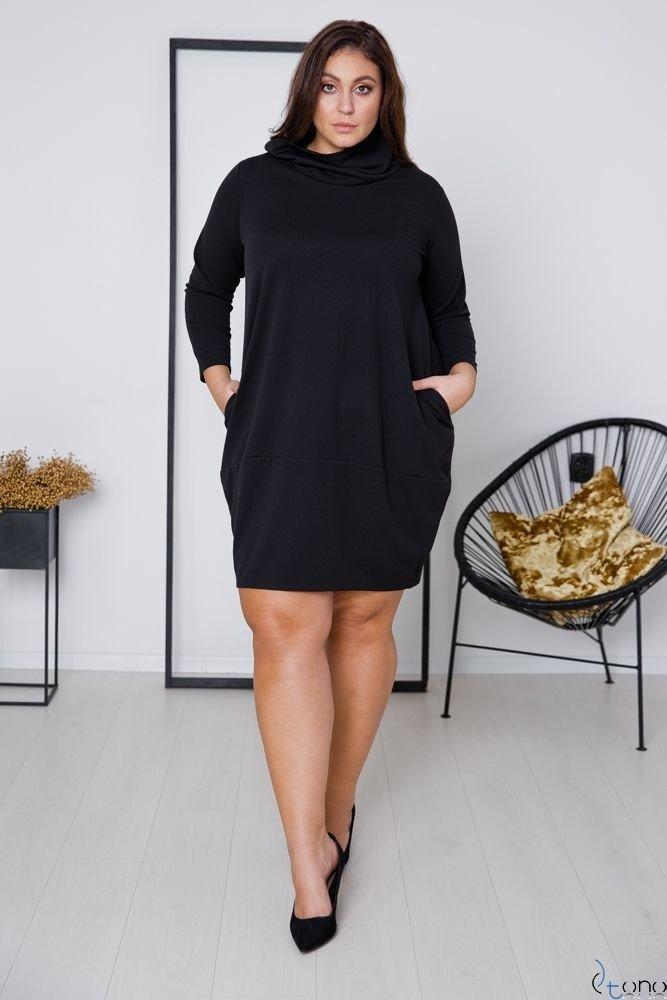 Black Dress BENICA Plus Size