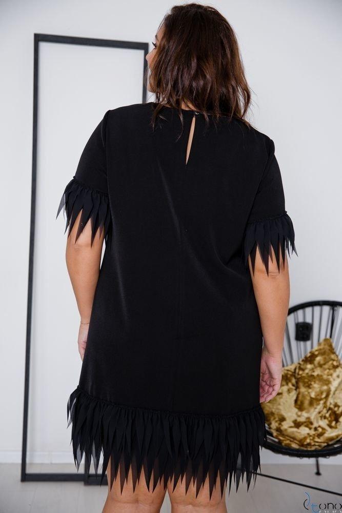 Black Dress CREPPA Plus Size