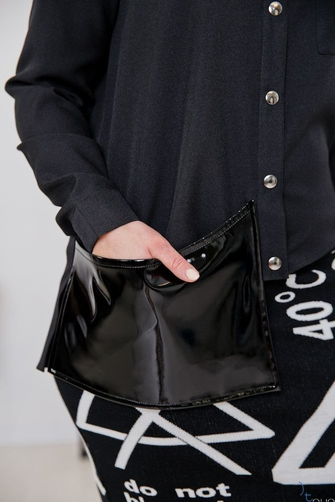 Black Shirt FUTURRA Plus Size
