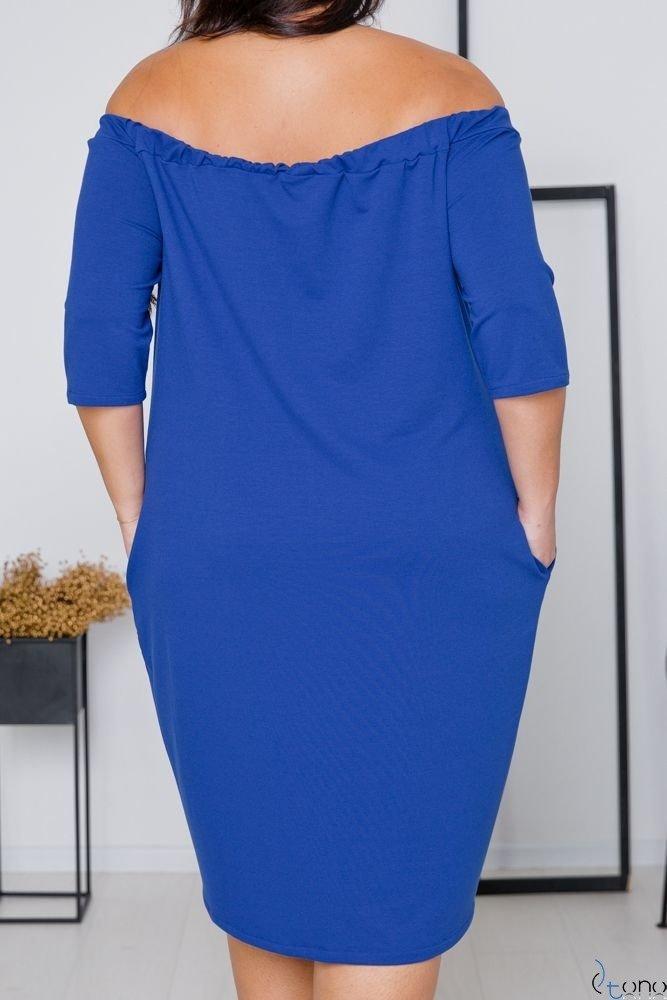 Cornflower Dress ROSETTA Plus Size