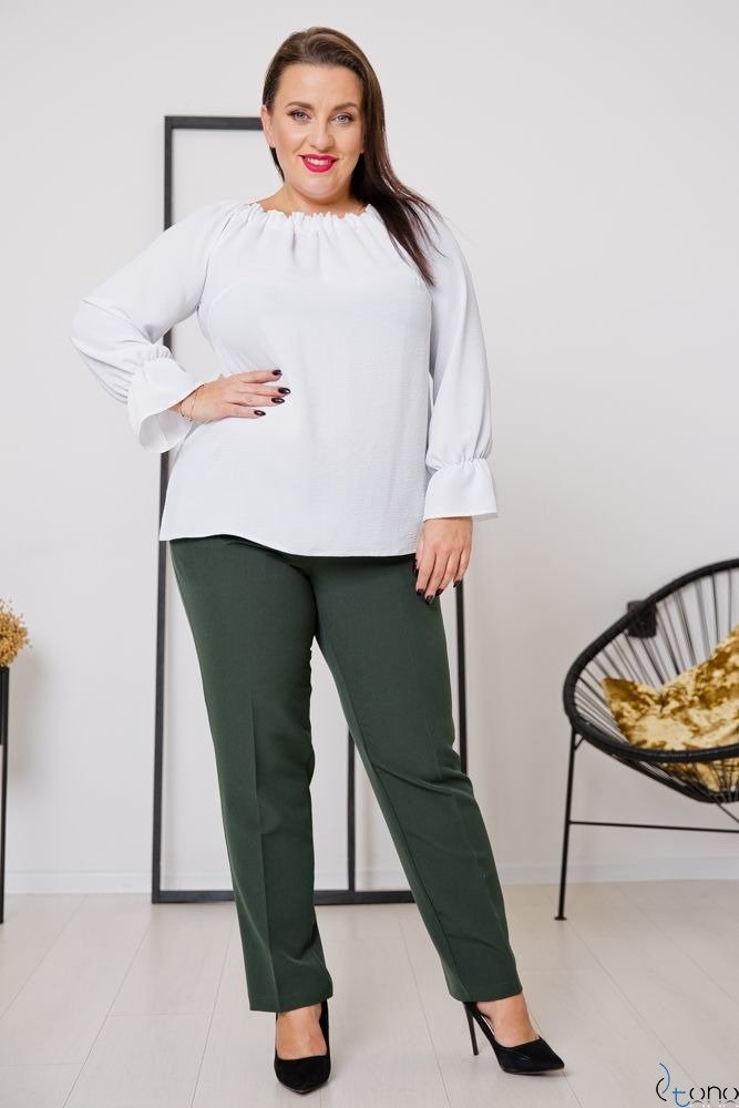 Green Trousers SETIA Plus Size