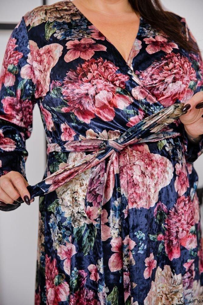 Navy Dress RETTA Plus Size