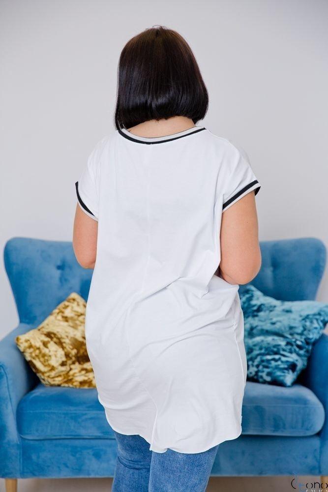Biała Tunika DEGREES Plus Size