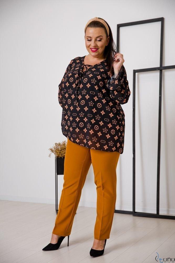 Bluzka COTELES Plus Size Wzór 3