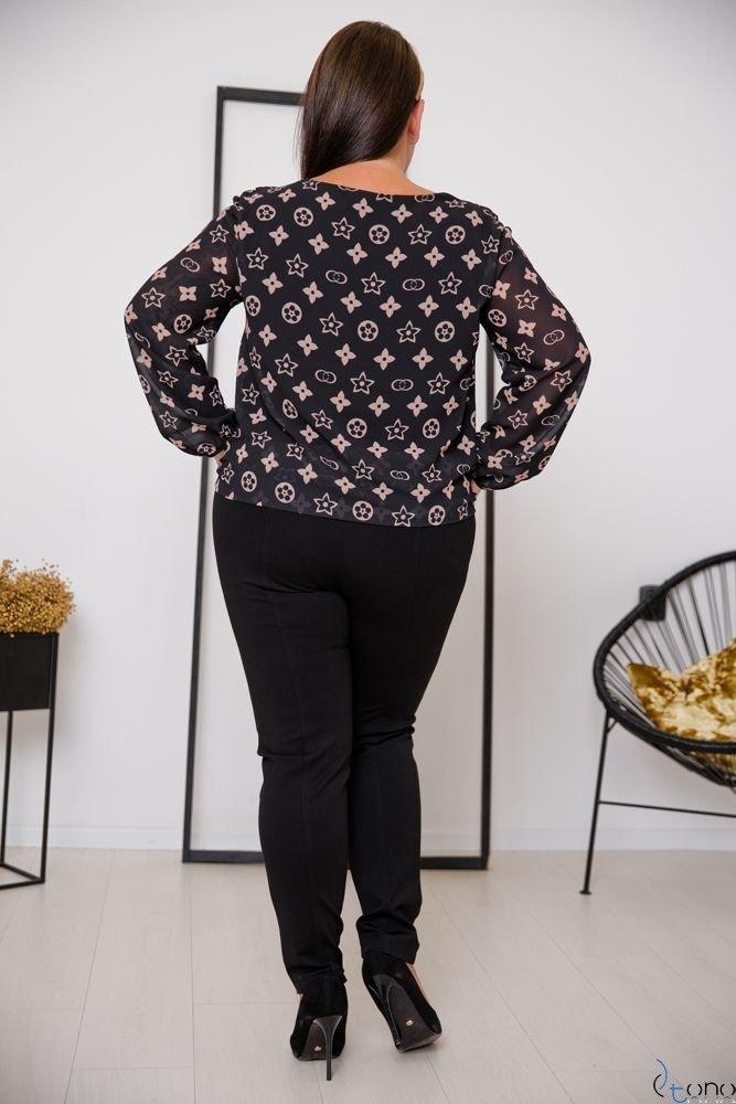 Bluzka FONDATA Plus Size Wzór 5