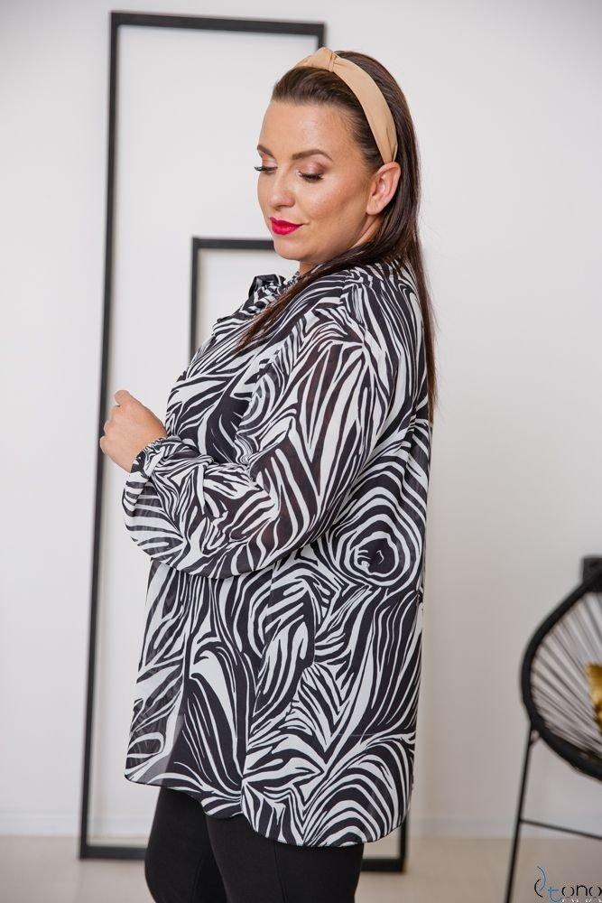 Bluzka MAFERA Plus Size Wzór 2