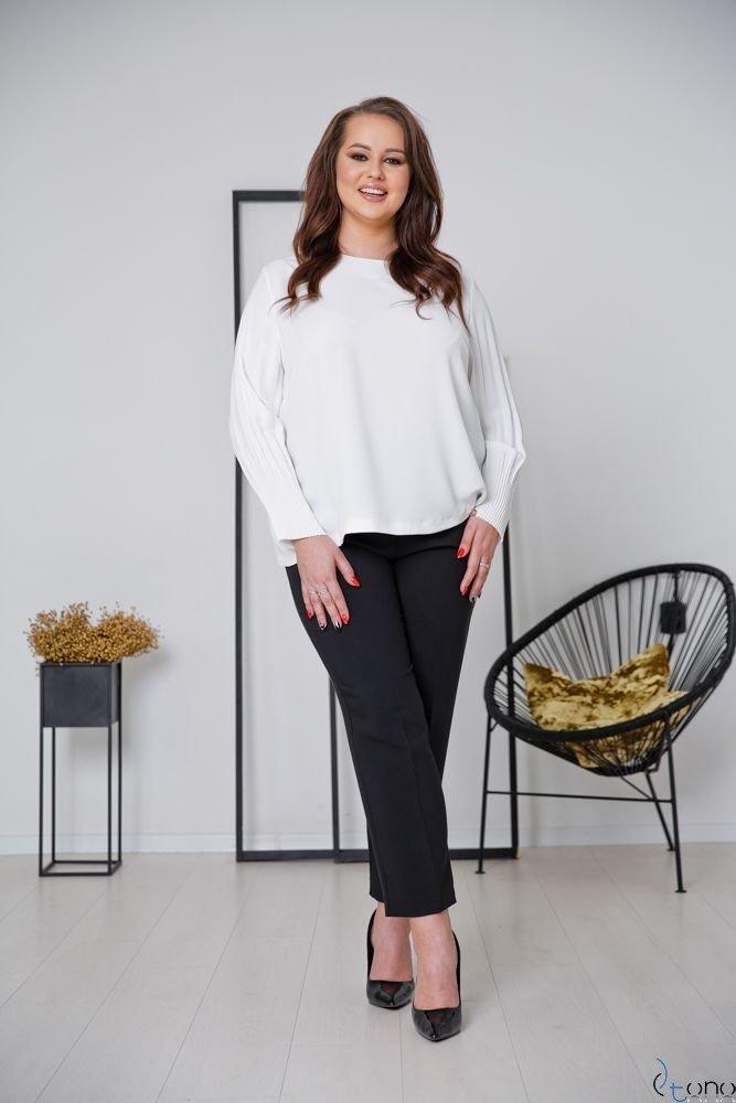 Bluzka YULIEN Plus Size Ecru
