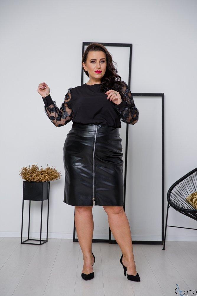 Czarna Spódnica DEBY Plus Size