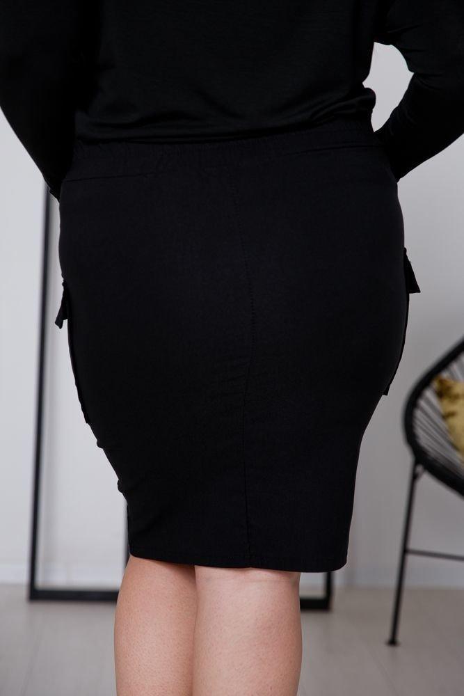 Czarna Spodnica MILA Plus Size