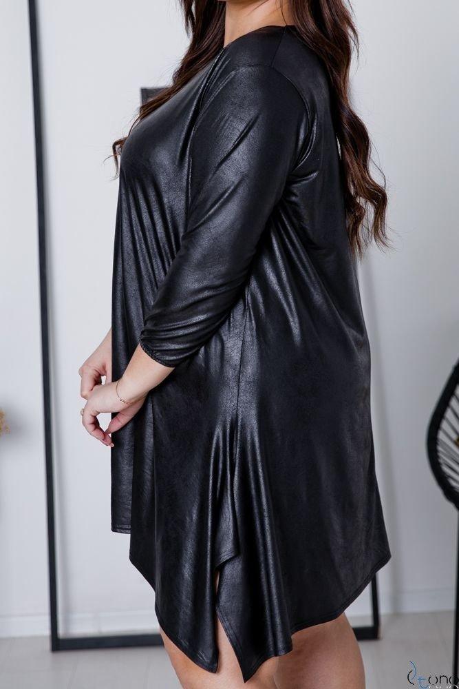Czarna Sukienka SIRI Plus Size