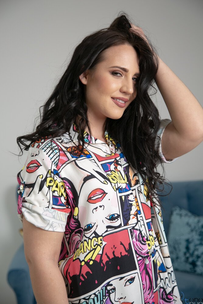 Koszula ALESSIA Plus Size Wzór 1
