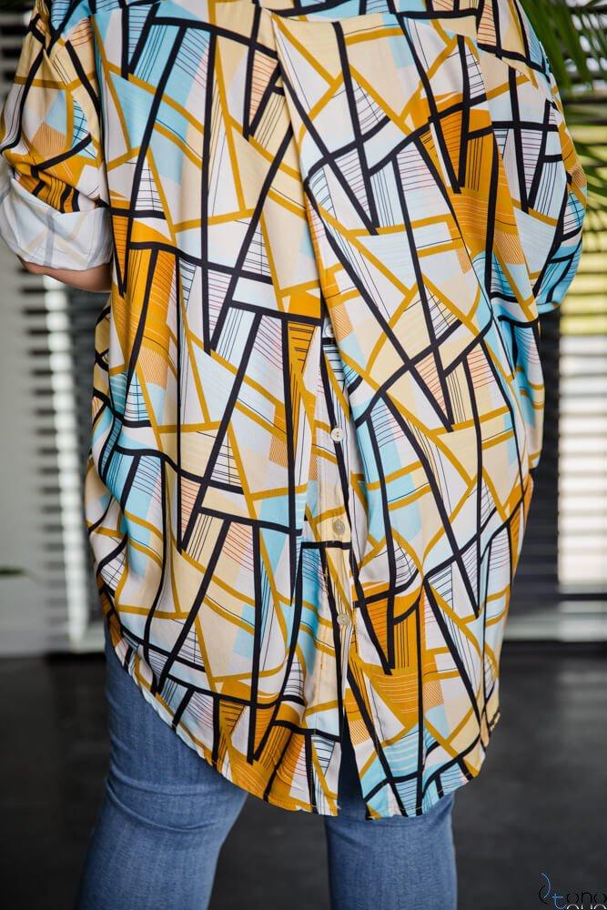 Koszula CREMMA Plus Size Wzór 1