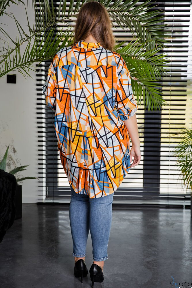 Koszula CREMMA Plus Size Wzór 3