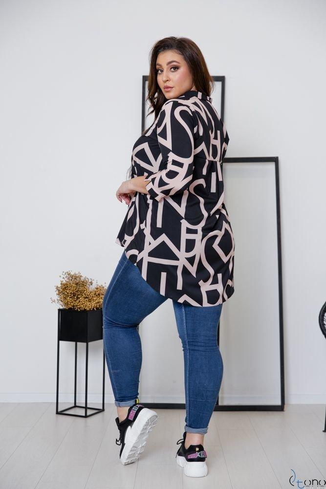 Koszula FARLA Plus Size Wzór 1