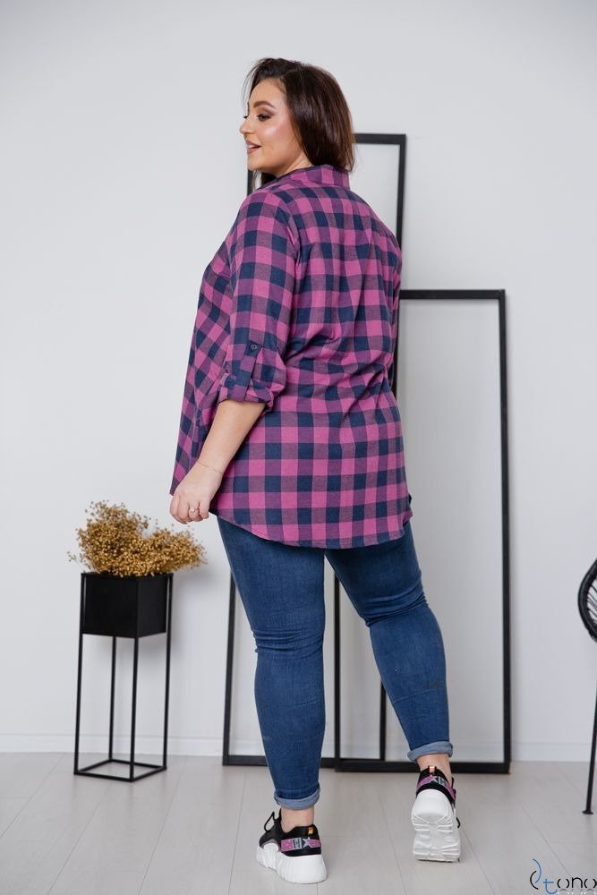 Koszula FLANEL Plus Size Wzór 5