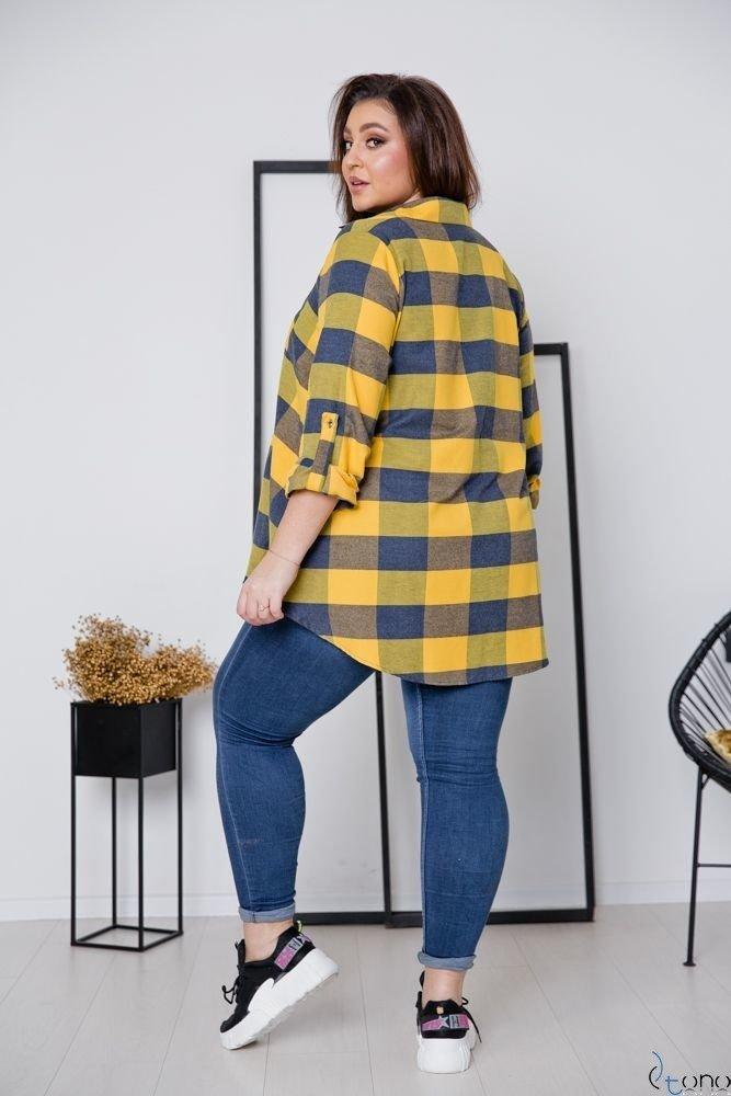 Koszula FLANEL Plus Size Wzór 6