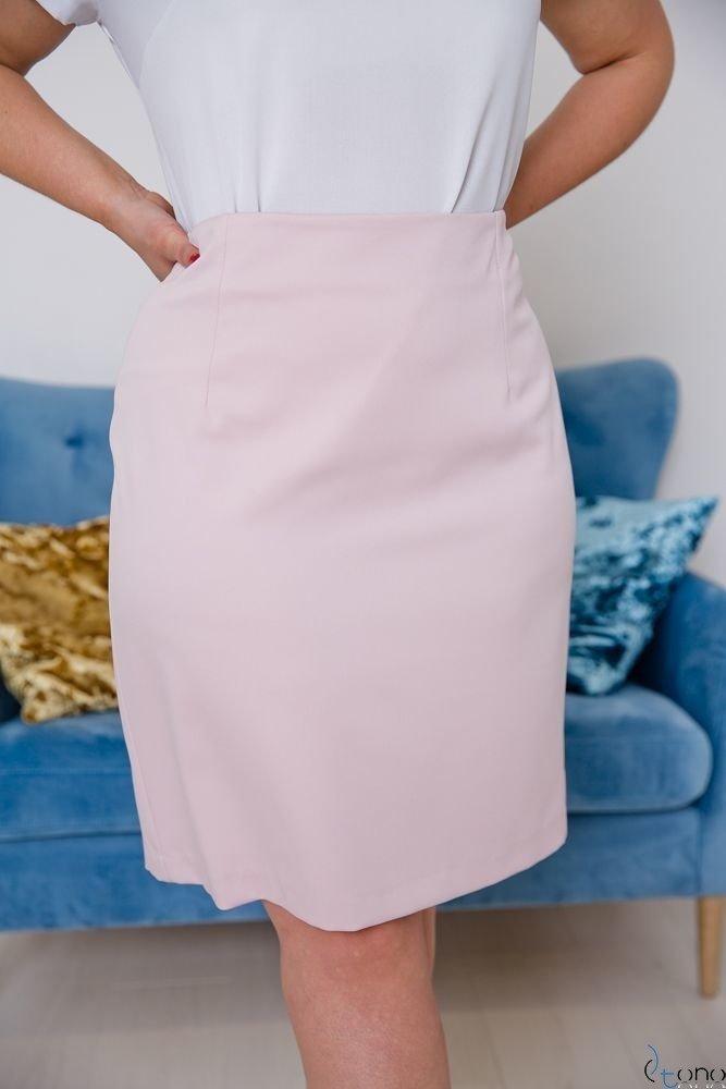 Różowa Spódnica DEBBY Plus Size