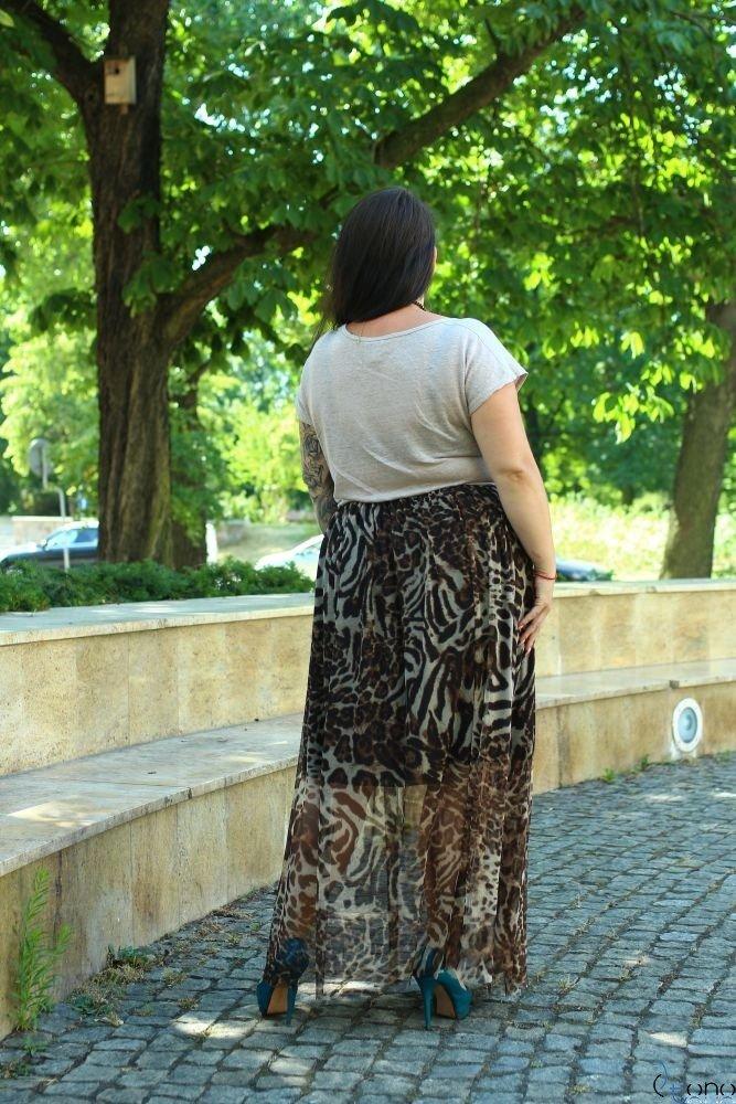 Spódnica VIMMI Plus Size Wzór 2