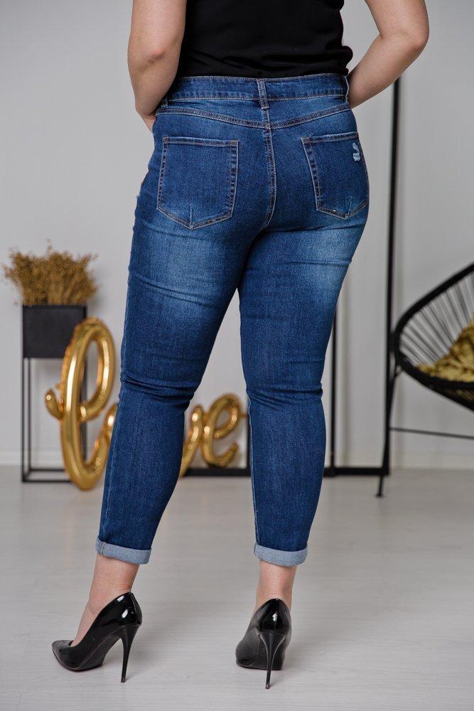 Spodnie Jeansowe MISTIK Plus Size