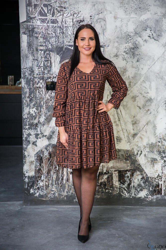 Sukienka BRANO Plus Size wzór 2