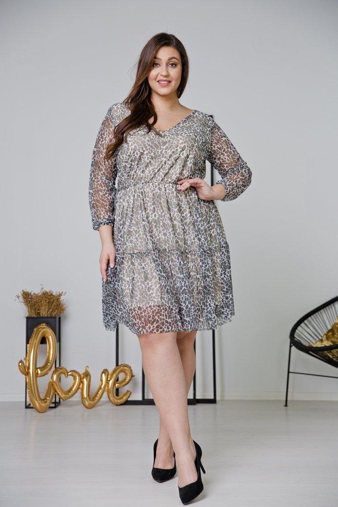 Sukienka ERIS Plus Size Wzór 2