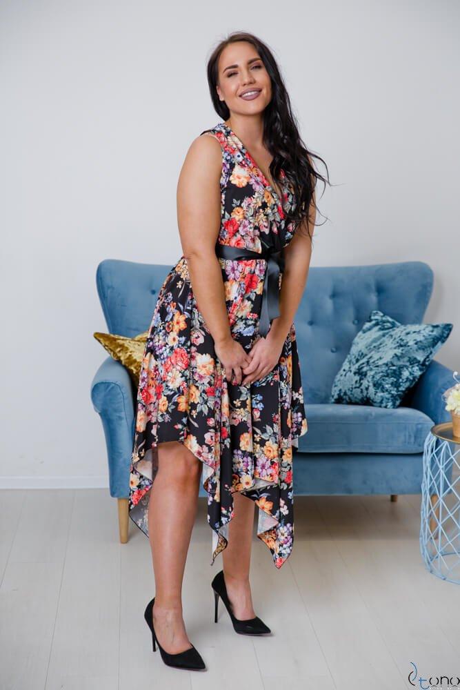 Sukienka FAVITA Plus Size Wzór 2