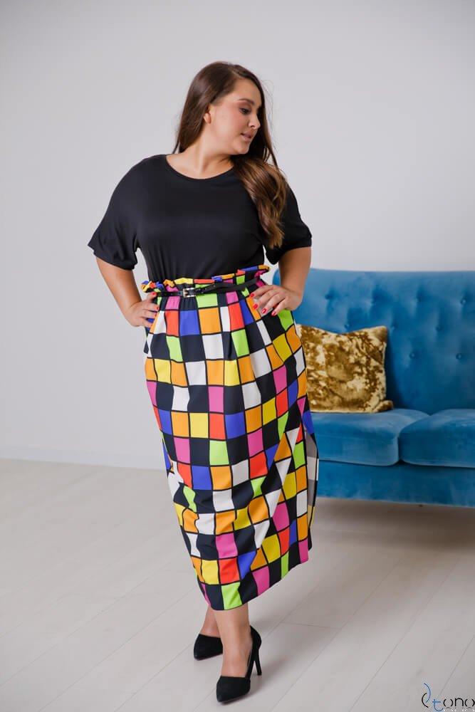 Sukienka FAVORITA Plus Size Wzór 3