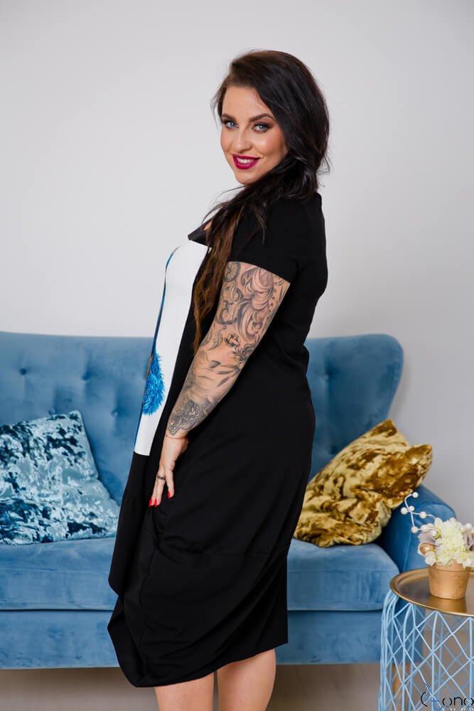 Sukienka FELICCIA Plus Size Wzór 3