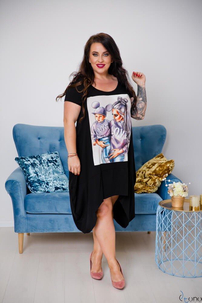 Sukienka FELICCIA Plus Size Wzór 5