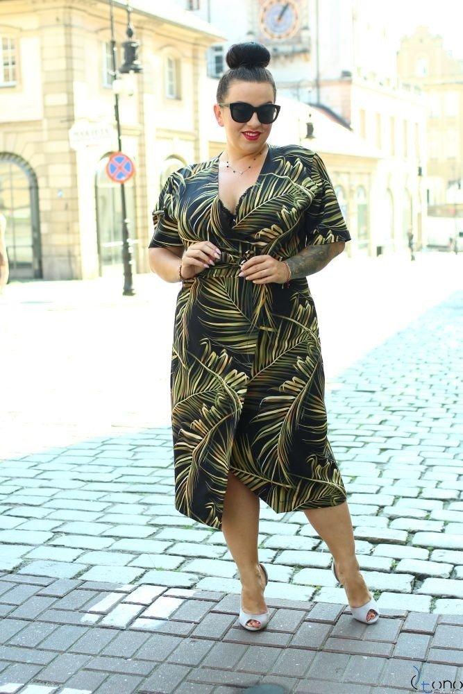 Sukienka FERRITA Plus Size Wzór 1