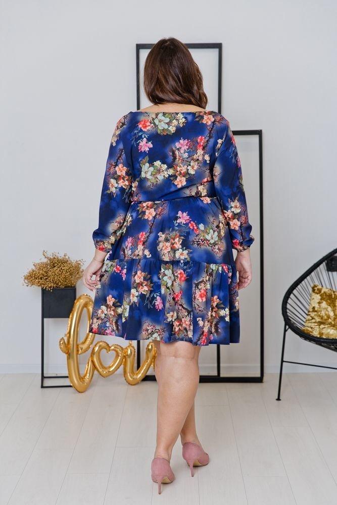 Sukienka FLEUR Plus Size Wzór 4