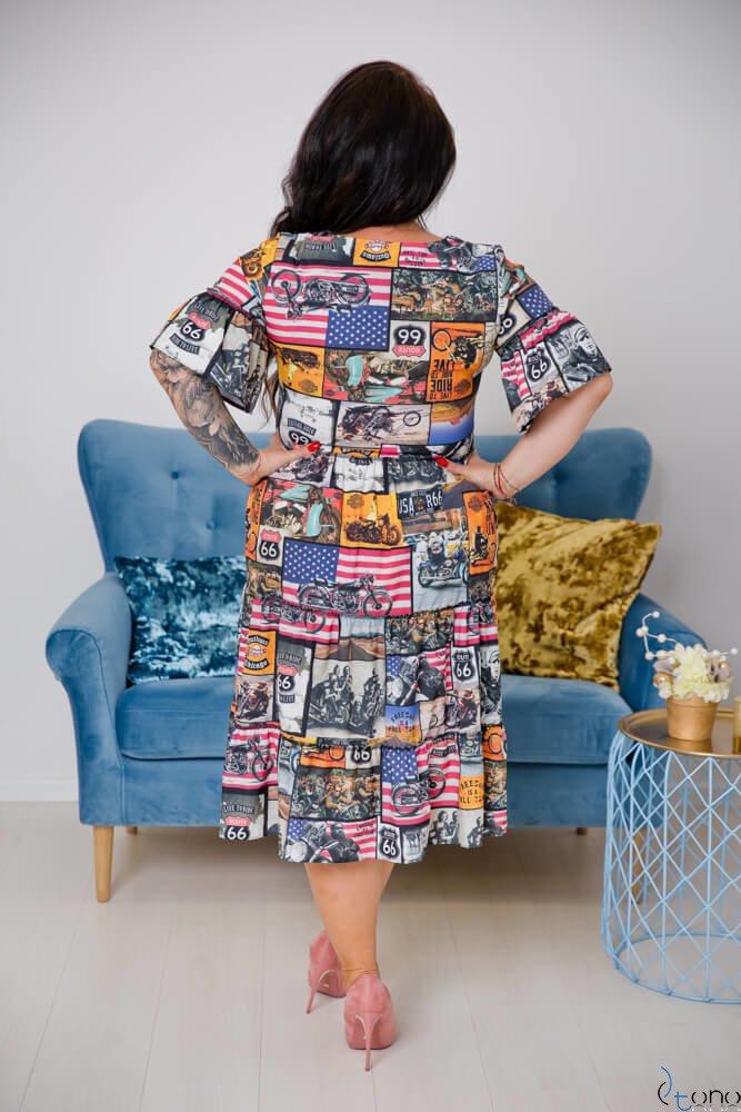 Sukienka FLORIDA Plus Size Wzór 2