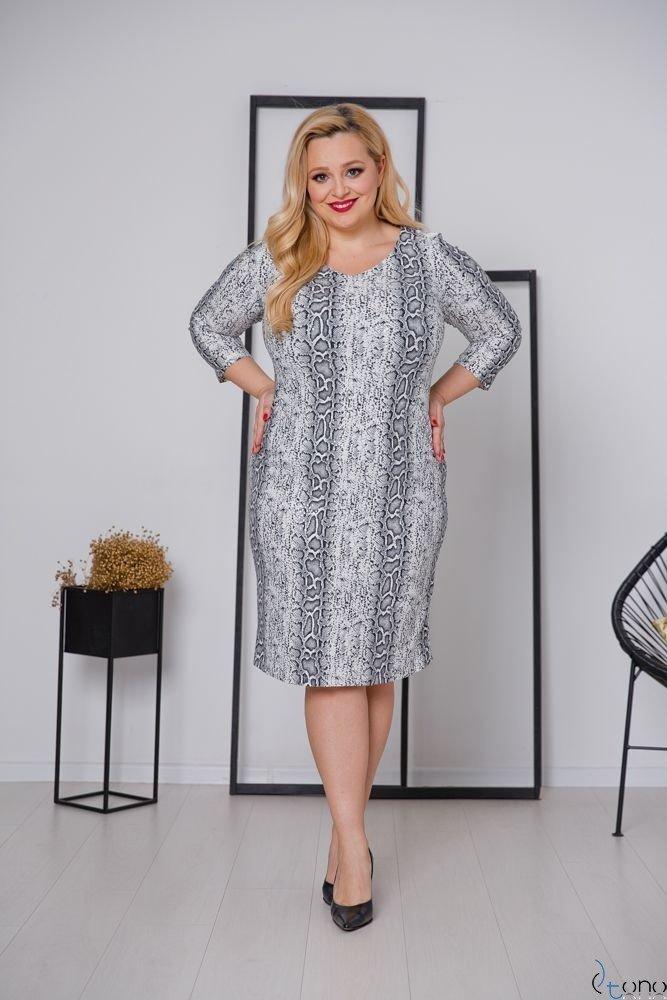 Sukienka KAMARIA Plus Size Wzór 8