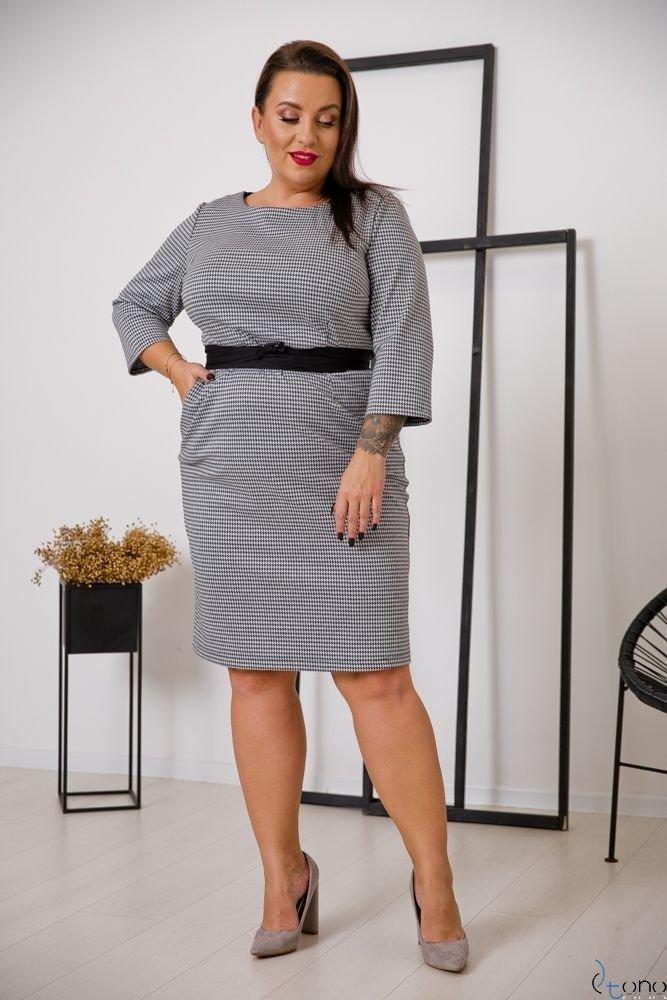 Sukienka LARIZ Plus Size Wzór 1