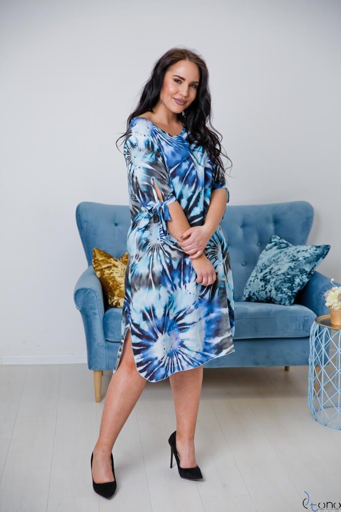 Sukienka MASITA Plus Size Wzór 1
