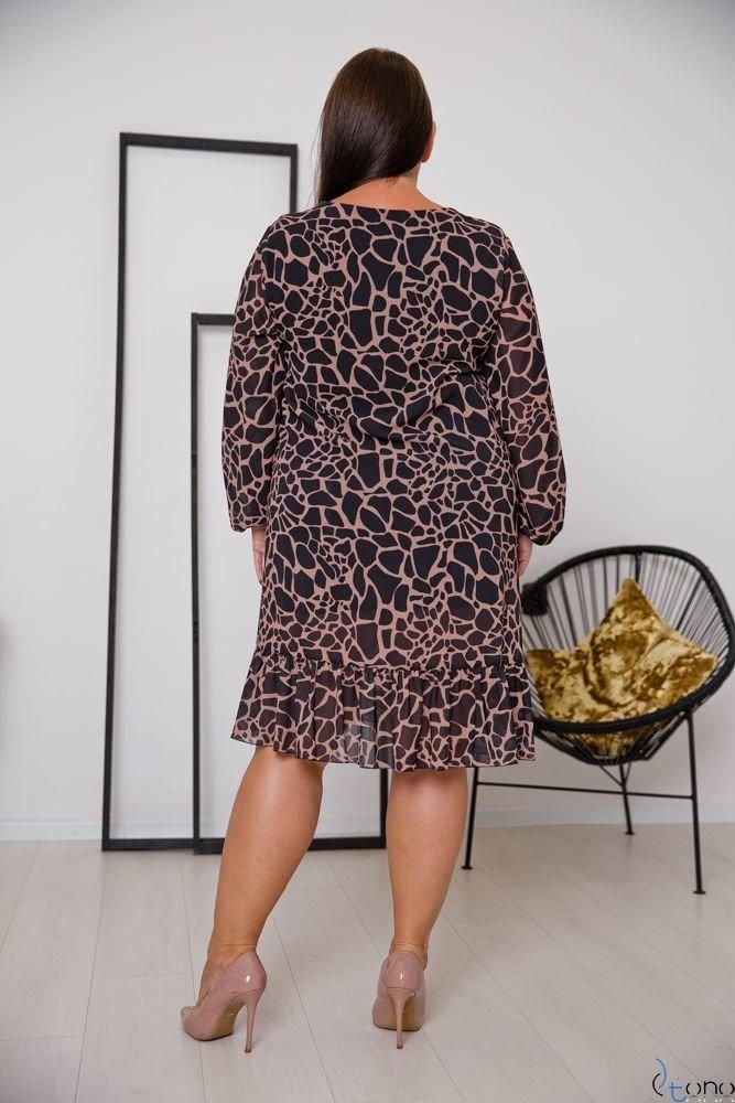 Sukienka PIRI Plus Size Wzór 1