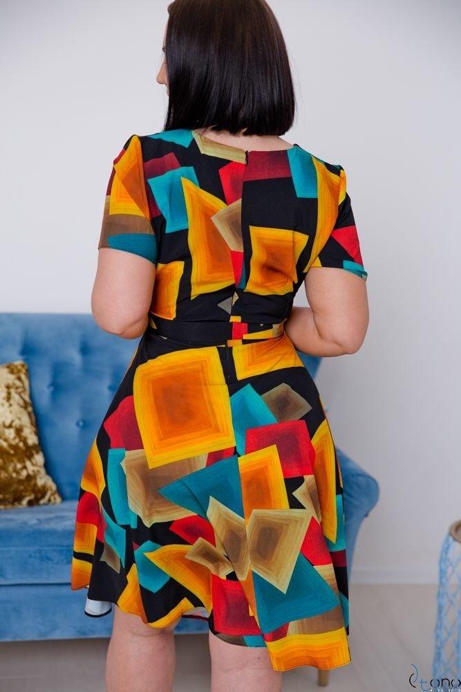 Sukienka ROSITA Plus Size Wzór 17