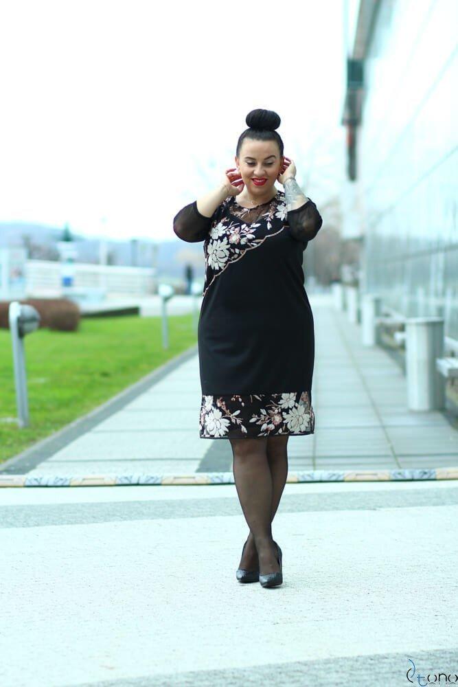 Sukienka ROZETTA Plus Size Wzór 3