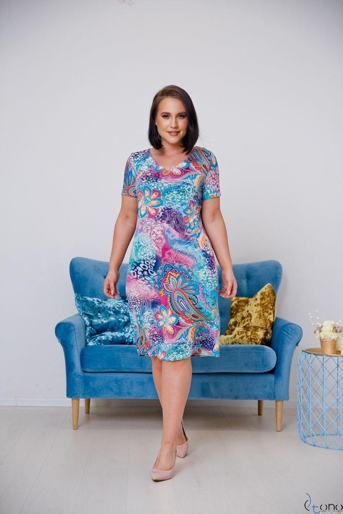 Sukienka STAMPINA Plus Size Wzór 13