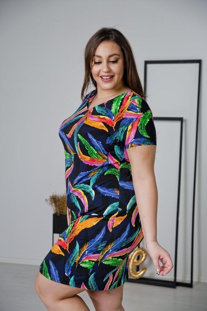Sukienka STAMPINA Plus Size Wzór 28