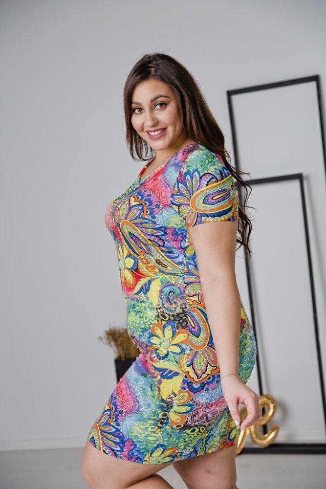 Sukienka STAMPINA Plus Size Wzór 30