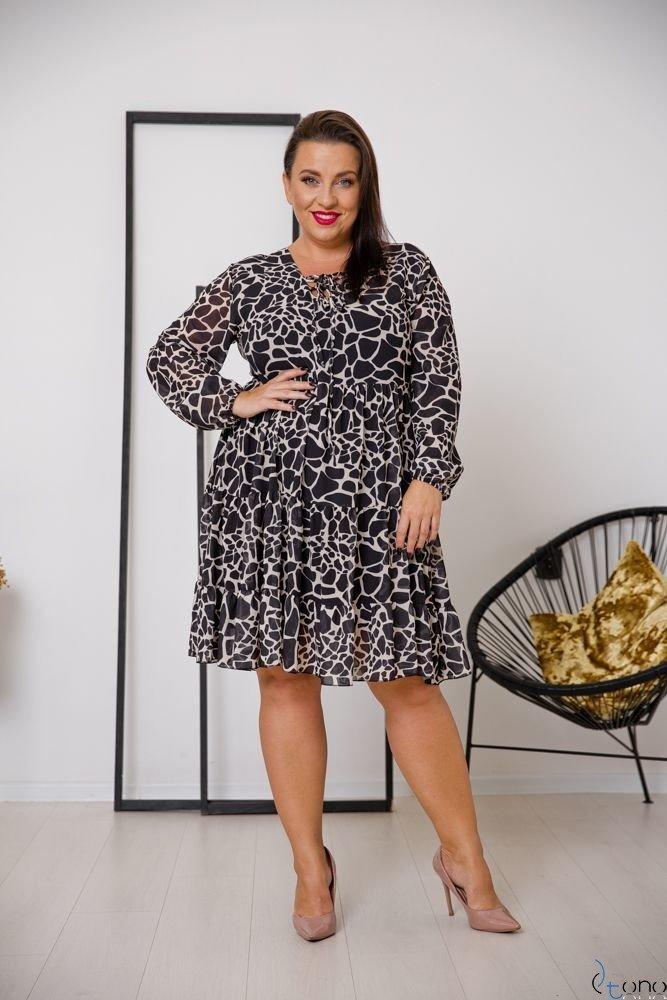 Sukienka STESSA Plus Size Wzór 4