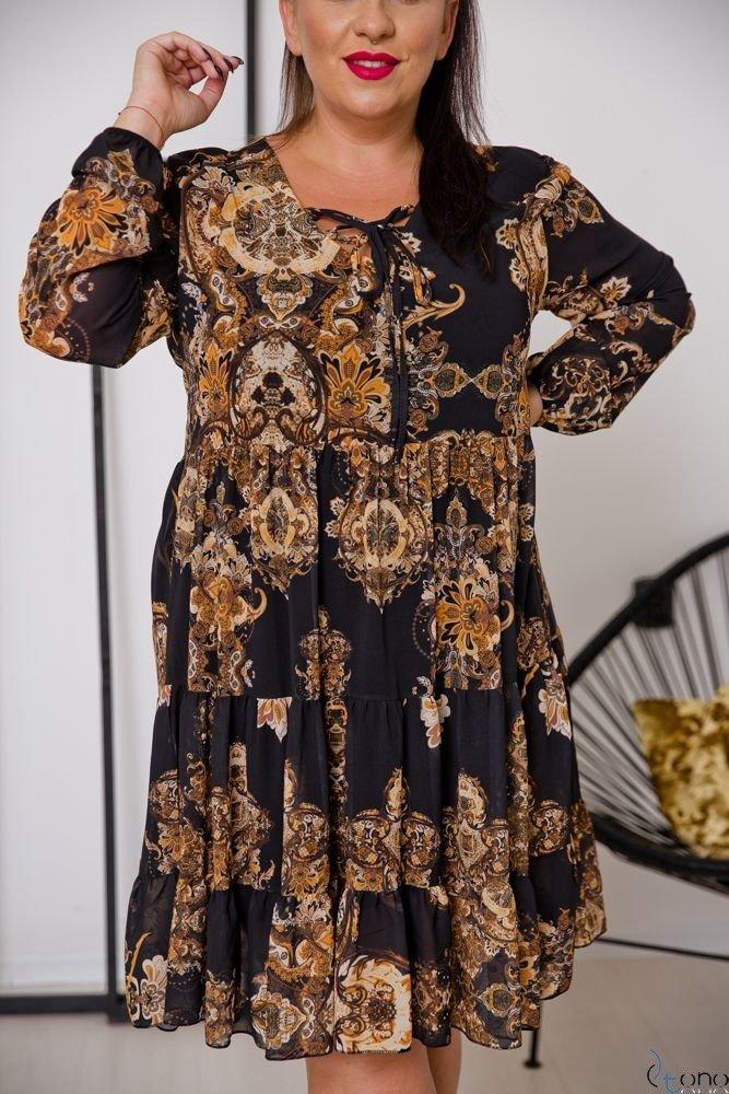 Sukienka STESSA Plus Size Wzór 6