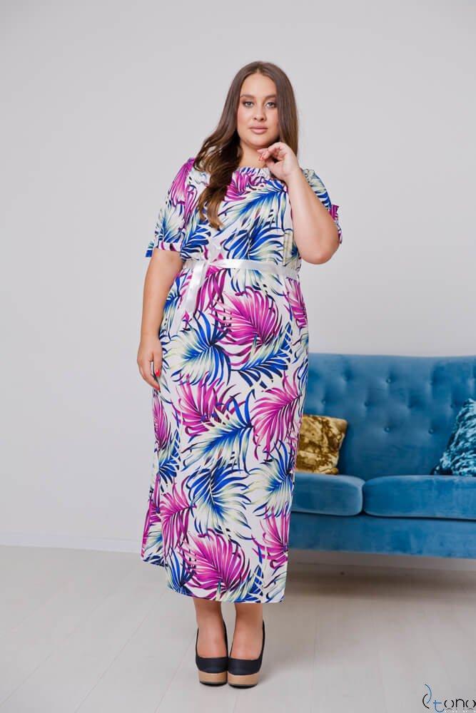 Sukienka TROPICANA Plus Size Wzór 6