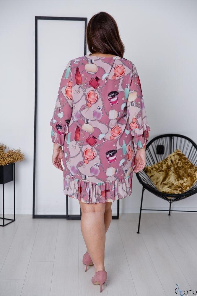 Sukienka VENNEA Plus Size Wzór 1